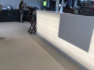 béton décoratif bar