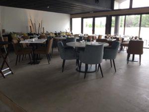 béton décoratif restaurant